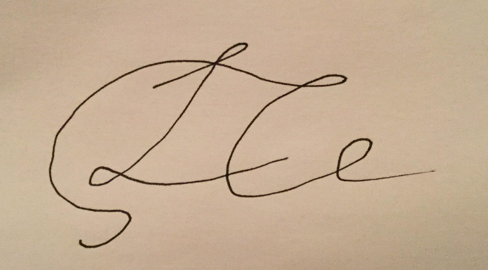 Lauren Collins's Signature