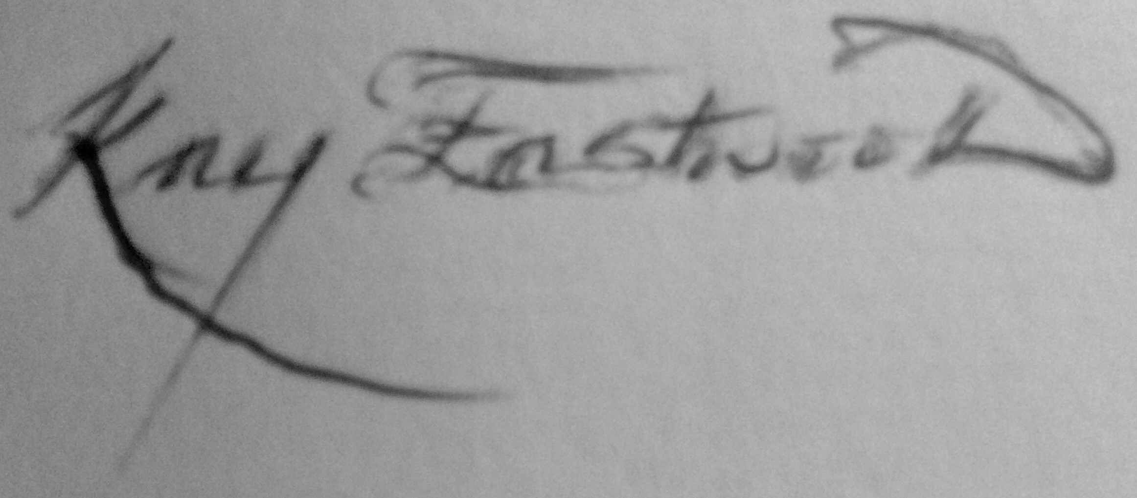 Kay Eastwood's Signature