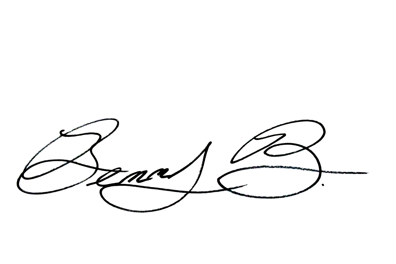 Ben bacon's Signature