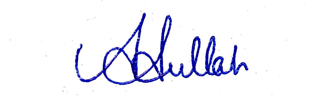 Abdullah Al Mahmud's Signature