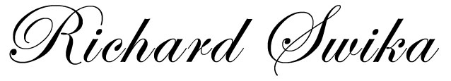 Richard Swika's Signature