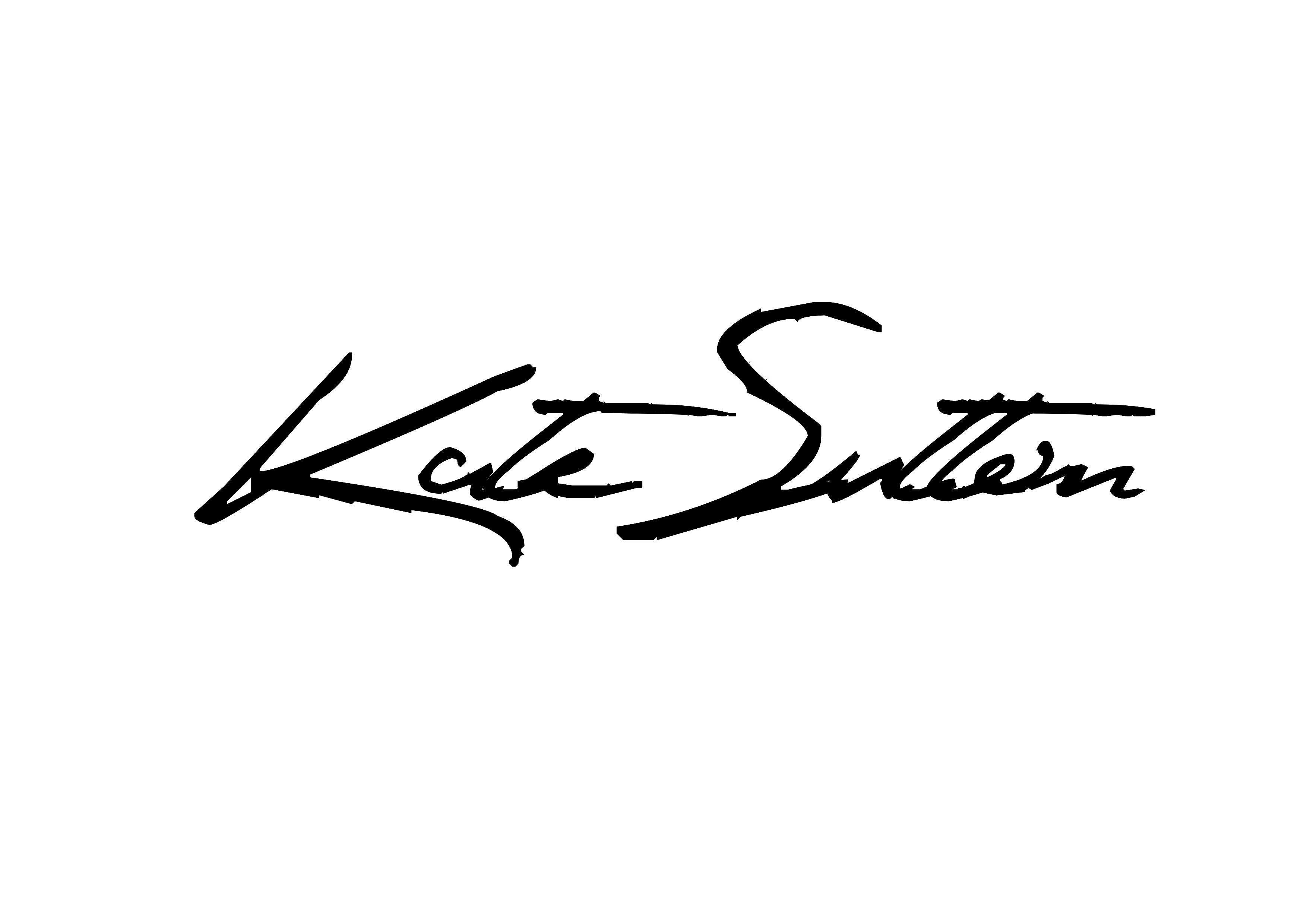 Kate sutton's Signature