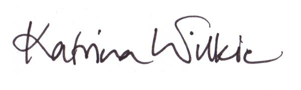 Katrina Wilkie's Signature