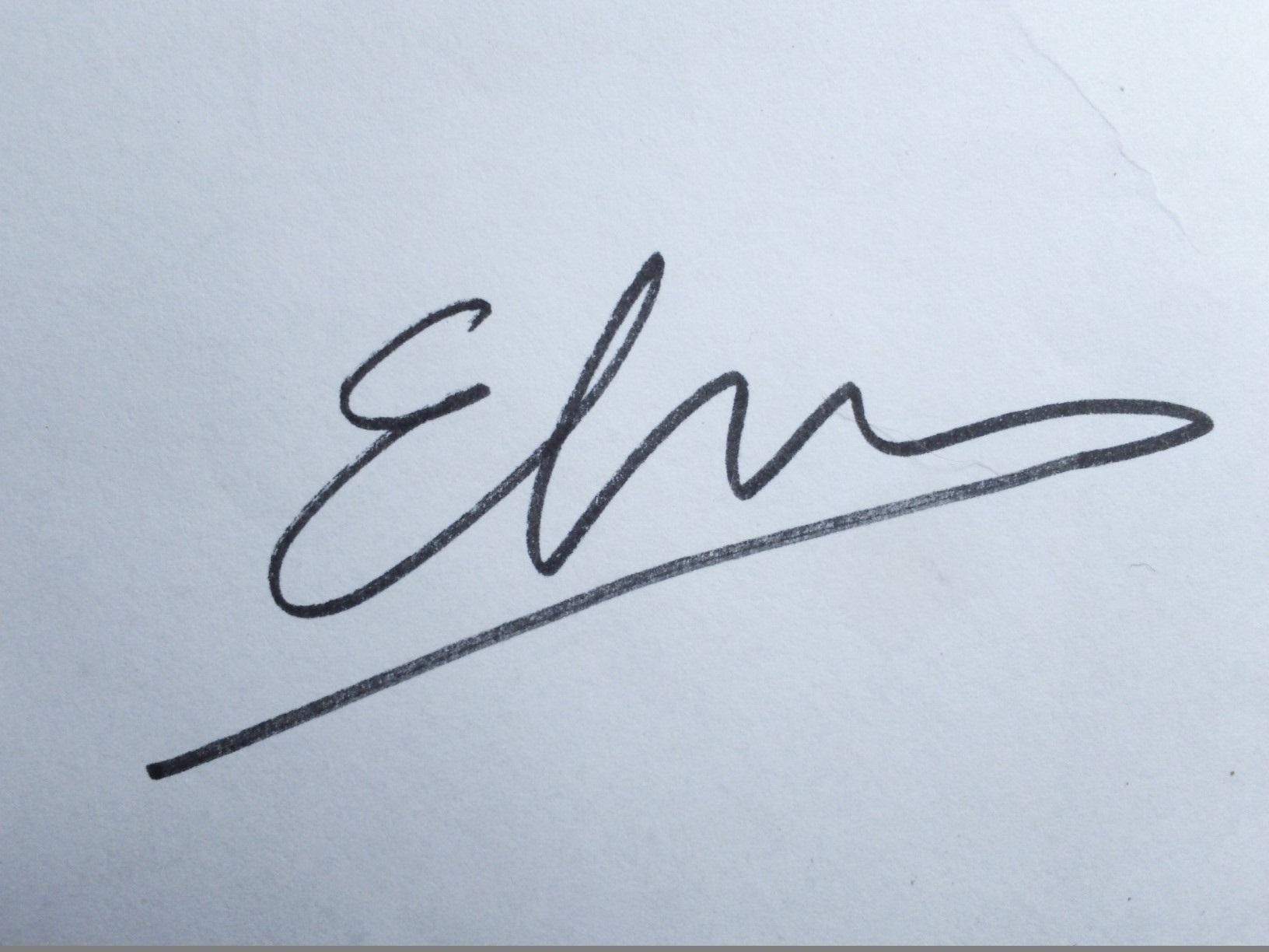 Elsa Pons's Signature