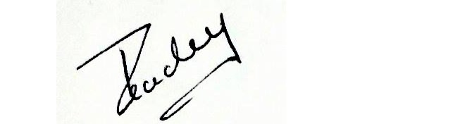 Pradeep Singh's Signature
