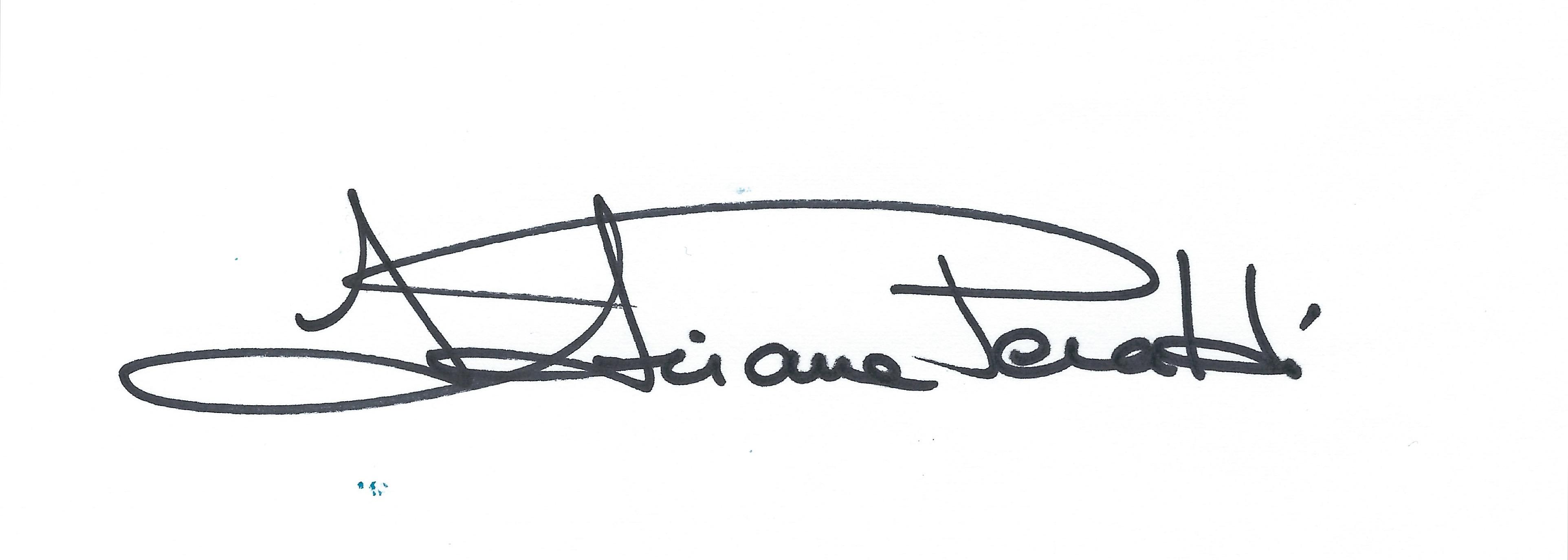 ADRIANA PERALDI's Signature