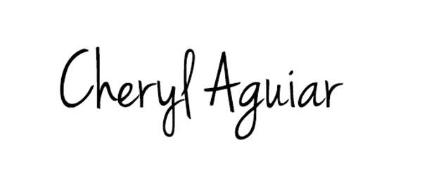 Cheryl Aguiar's Signature
