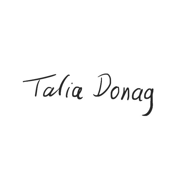 Talia Donag's Signature