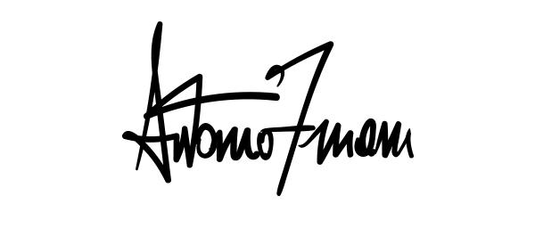 Antonio Zuiani's Signature