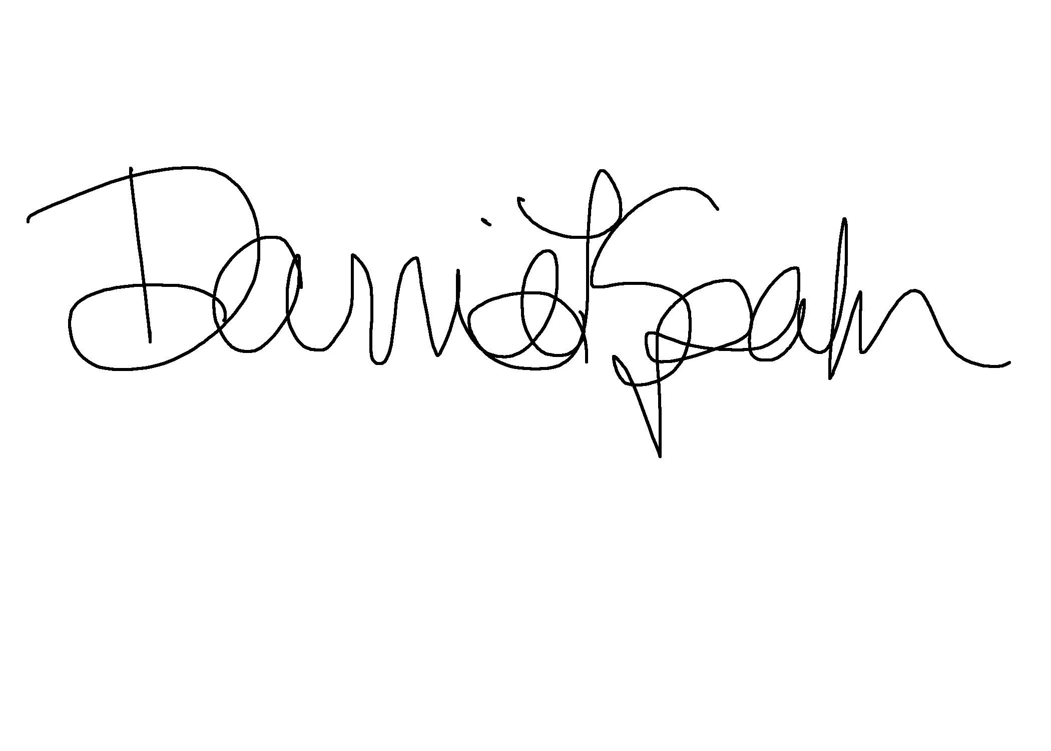 Darrie Spahr's Signature