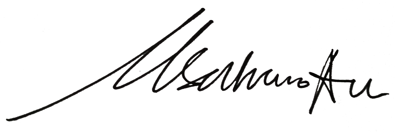 Satrio Adi's Signature