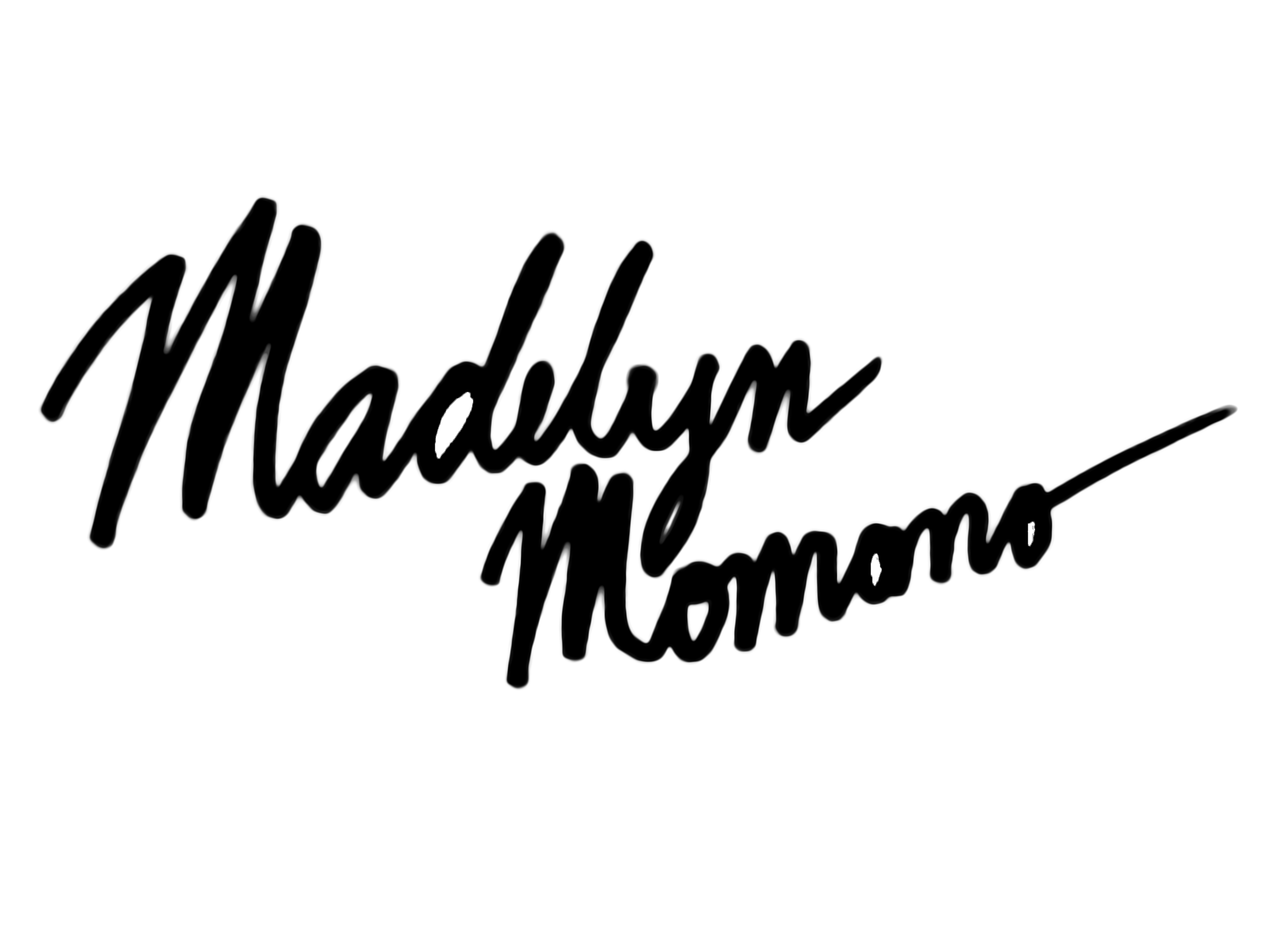 Madelyn Momano's Signature