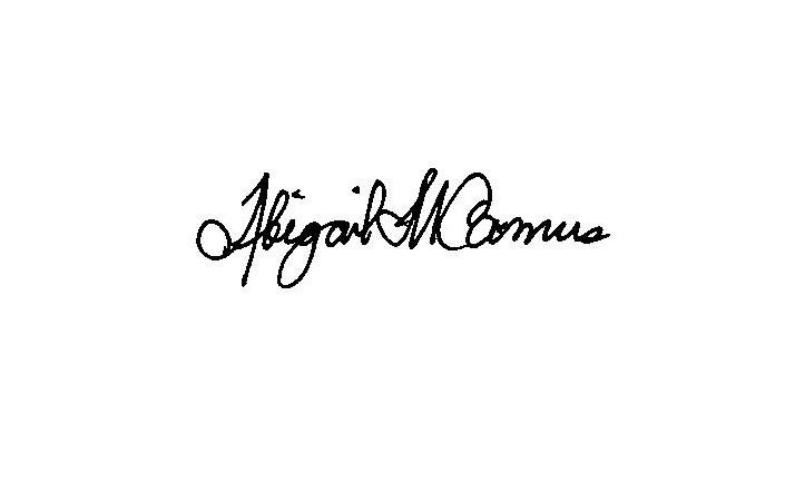A M Camus's Signature