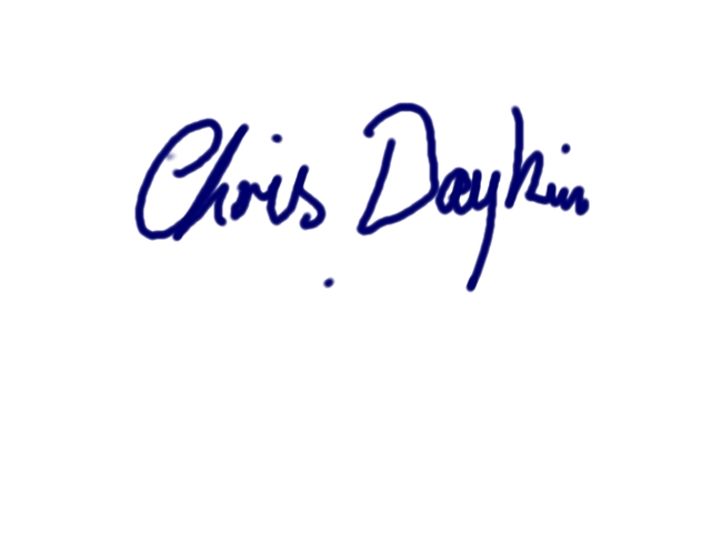 Chris Daykin's Signature