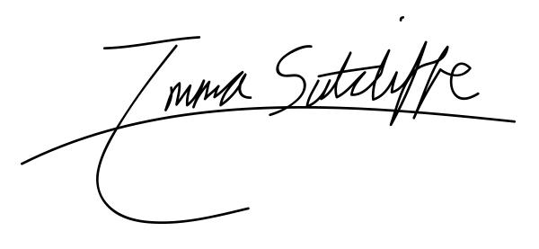 Emma Sutcliffe's Signature