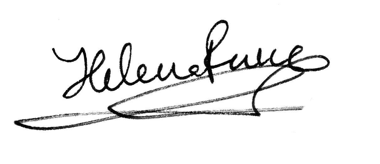 Helena Perez Garcia's Signature