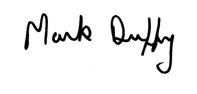 Mark Duffy's Signature