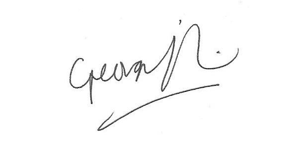 Georgia Foreman's Signature
