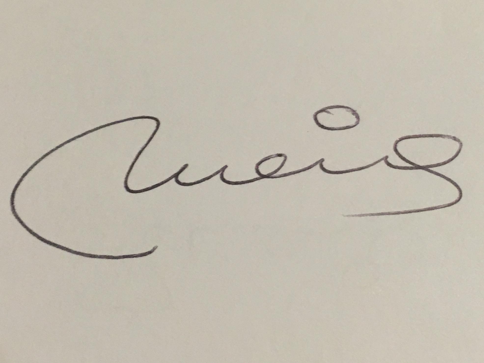 meia Prieto's Signature