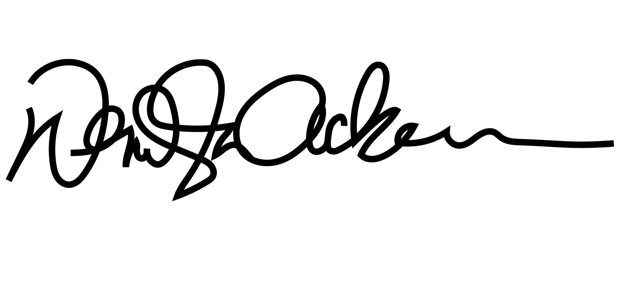 Wendy Ackerman's Signature