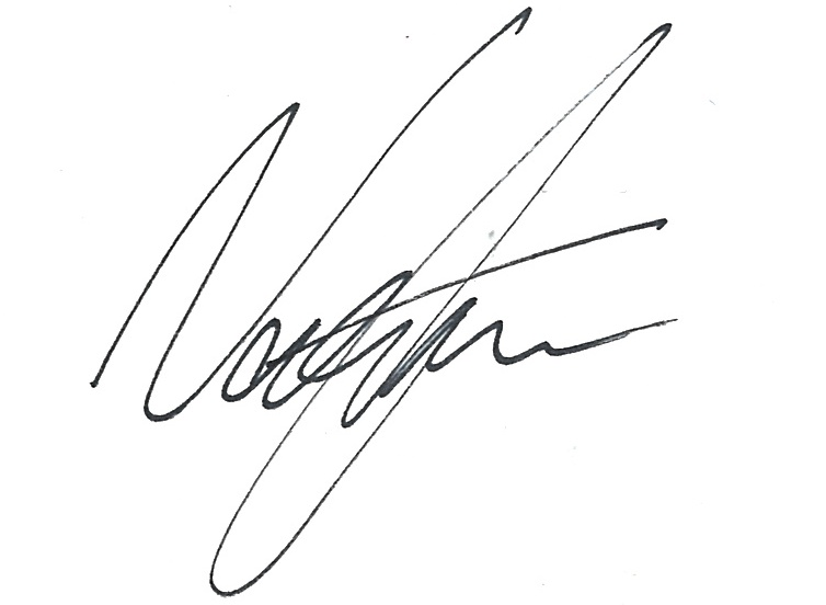 Nat Cann's Signature