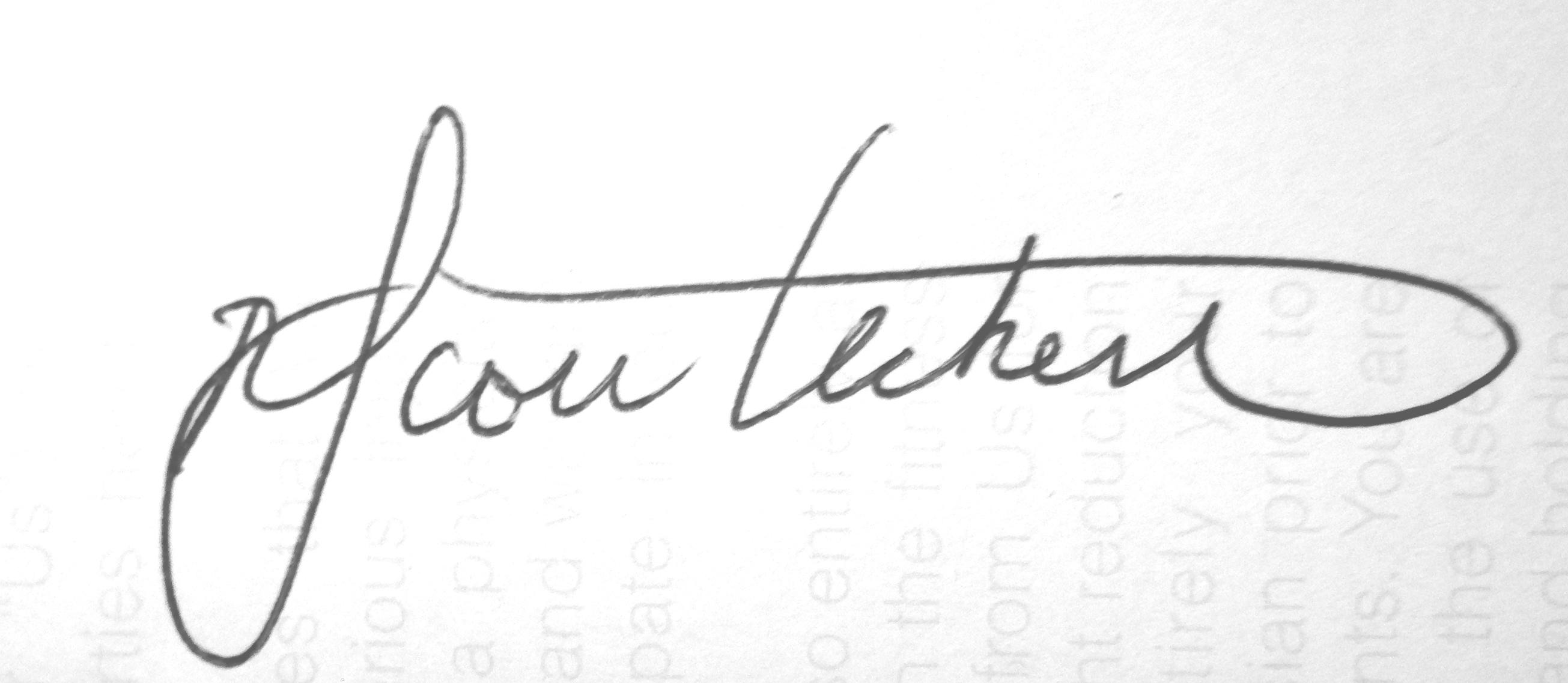 Scott Heckert's Signature