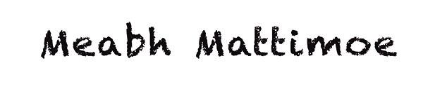 meabh mattimoe's Signature