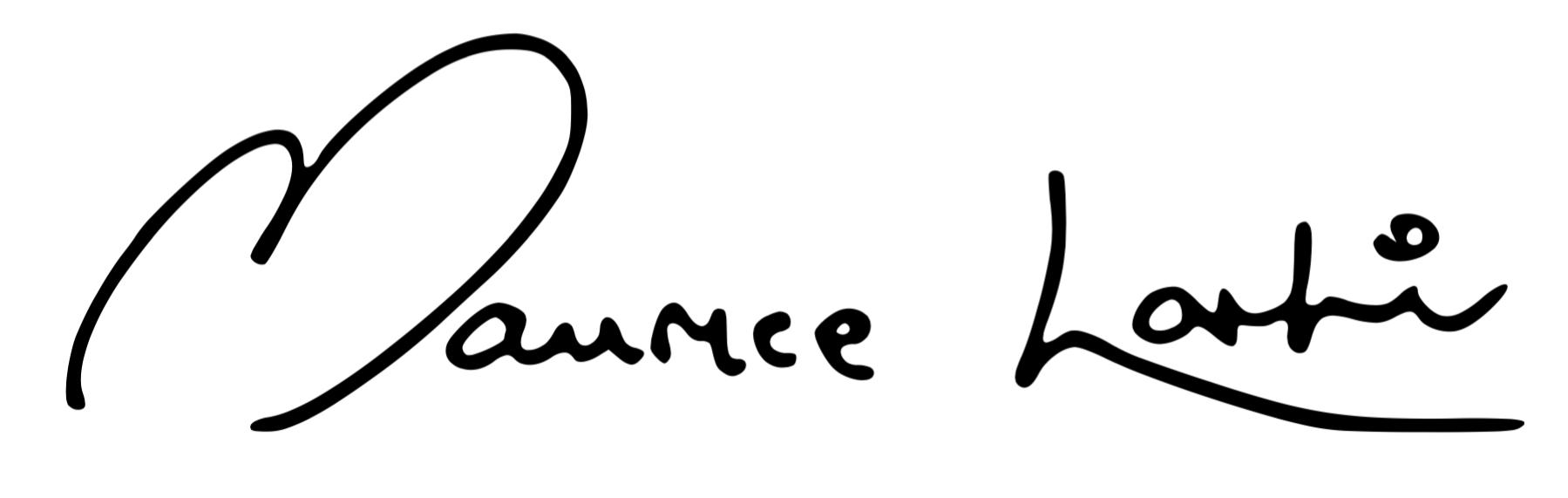 Maurice Larkin's Signature
