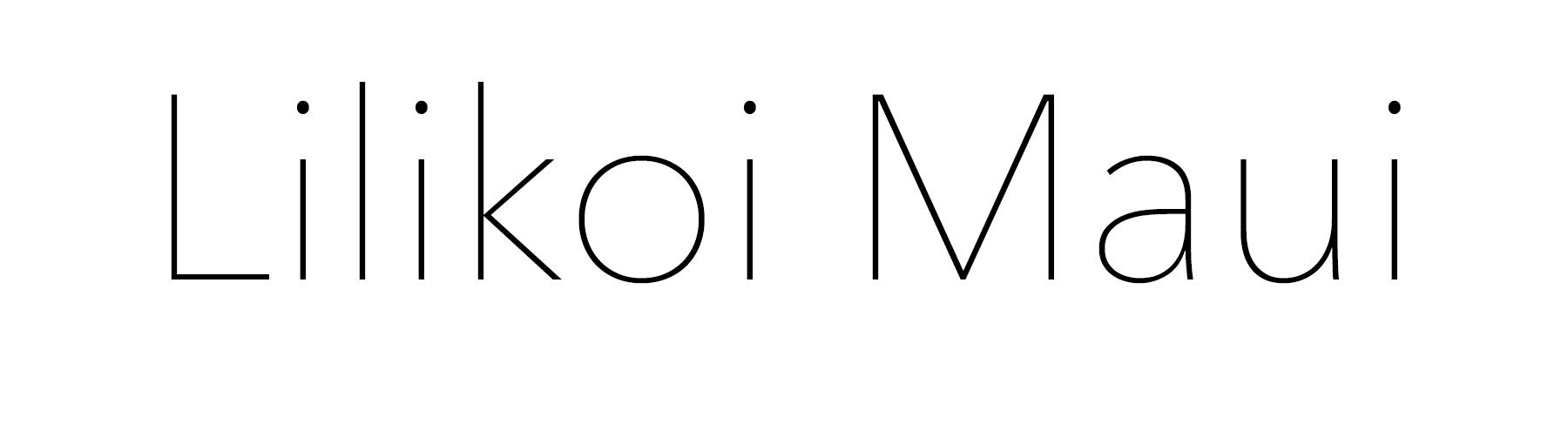Lilikoi Maui's Signature