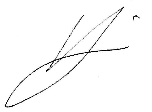 Vern Laine's Signature