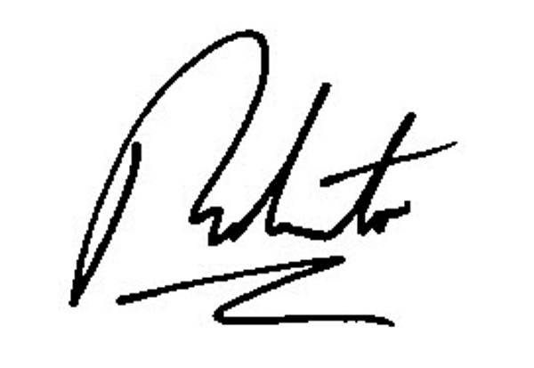 Roberto of tuscany's Signature