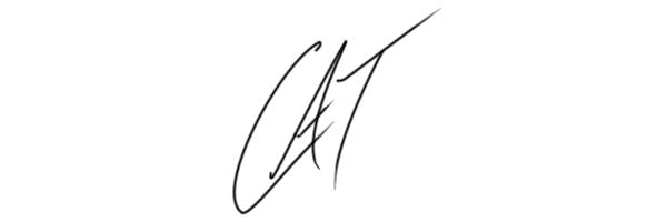 Catherine MacAdam's Signature