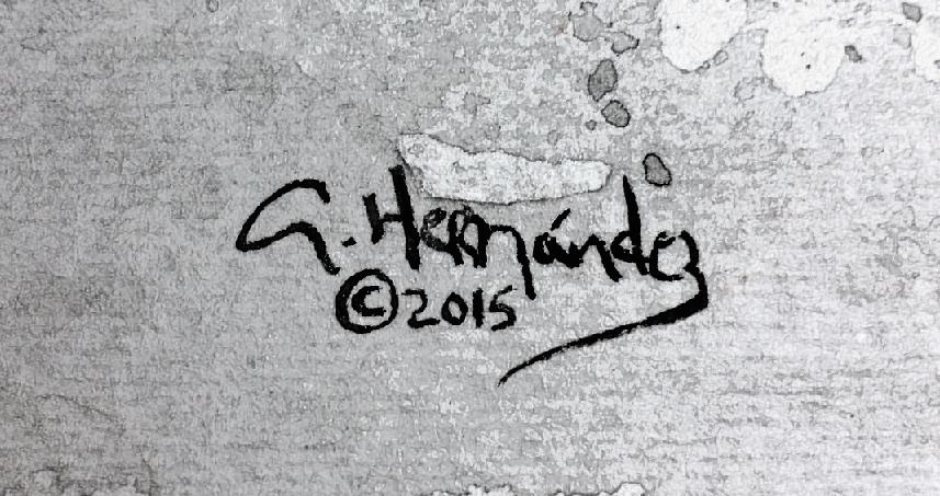 Adiel Hernandez's Signature
