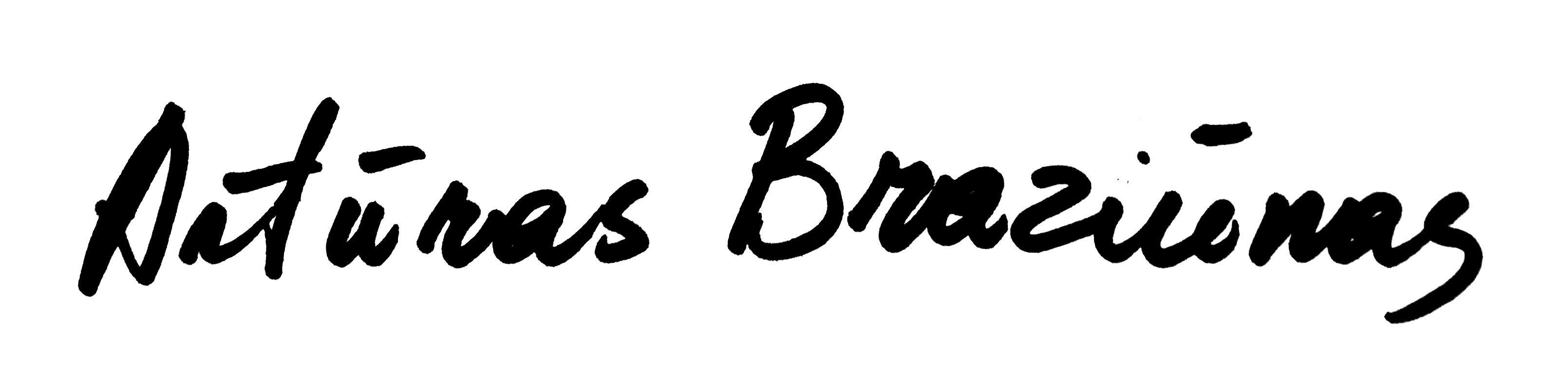 Arturas Braziunas ART's Signature