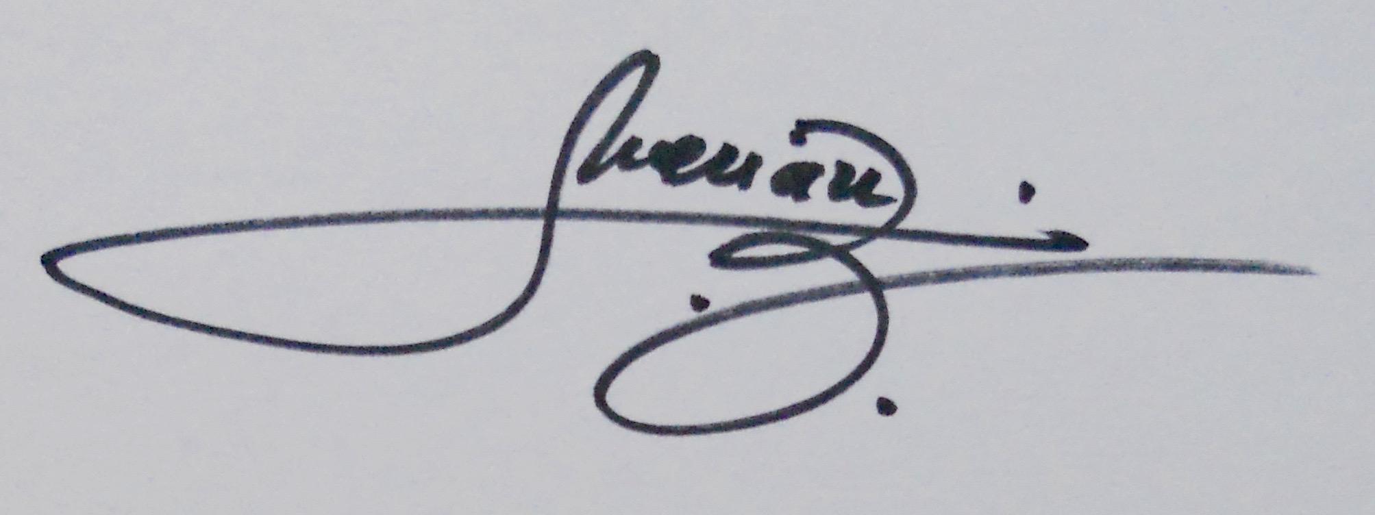 Merian C.'s Signature