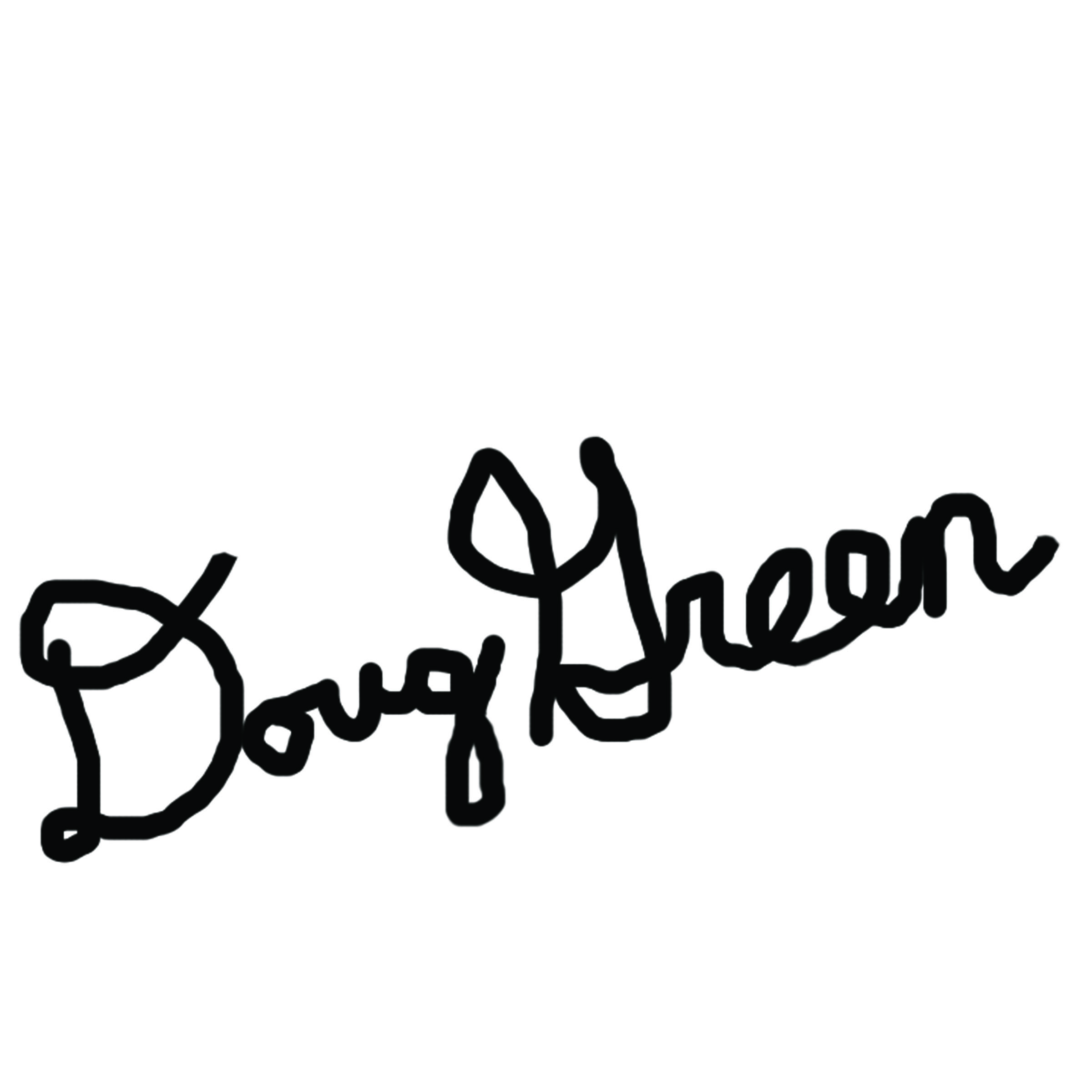 Doug Green's Signature