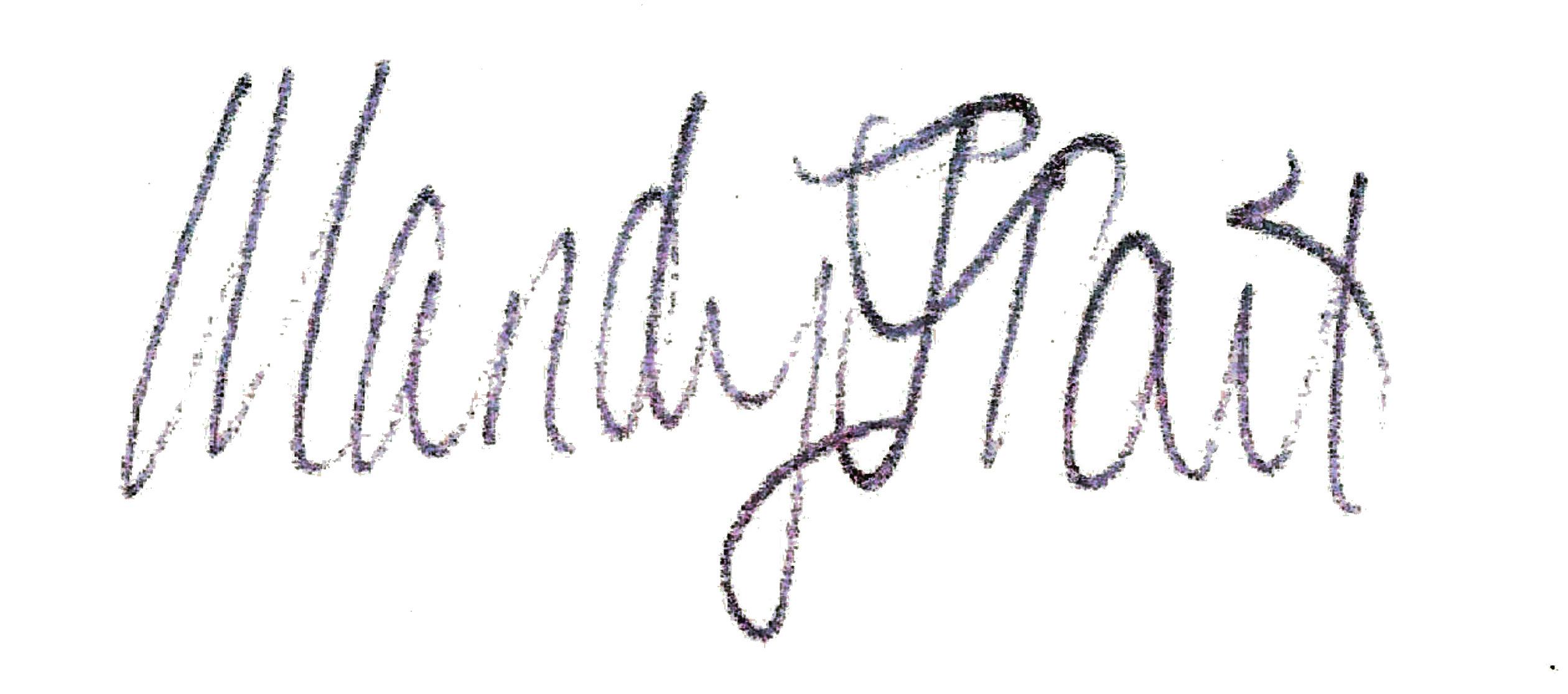 Mandy Tait's Signature