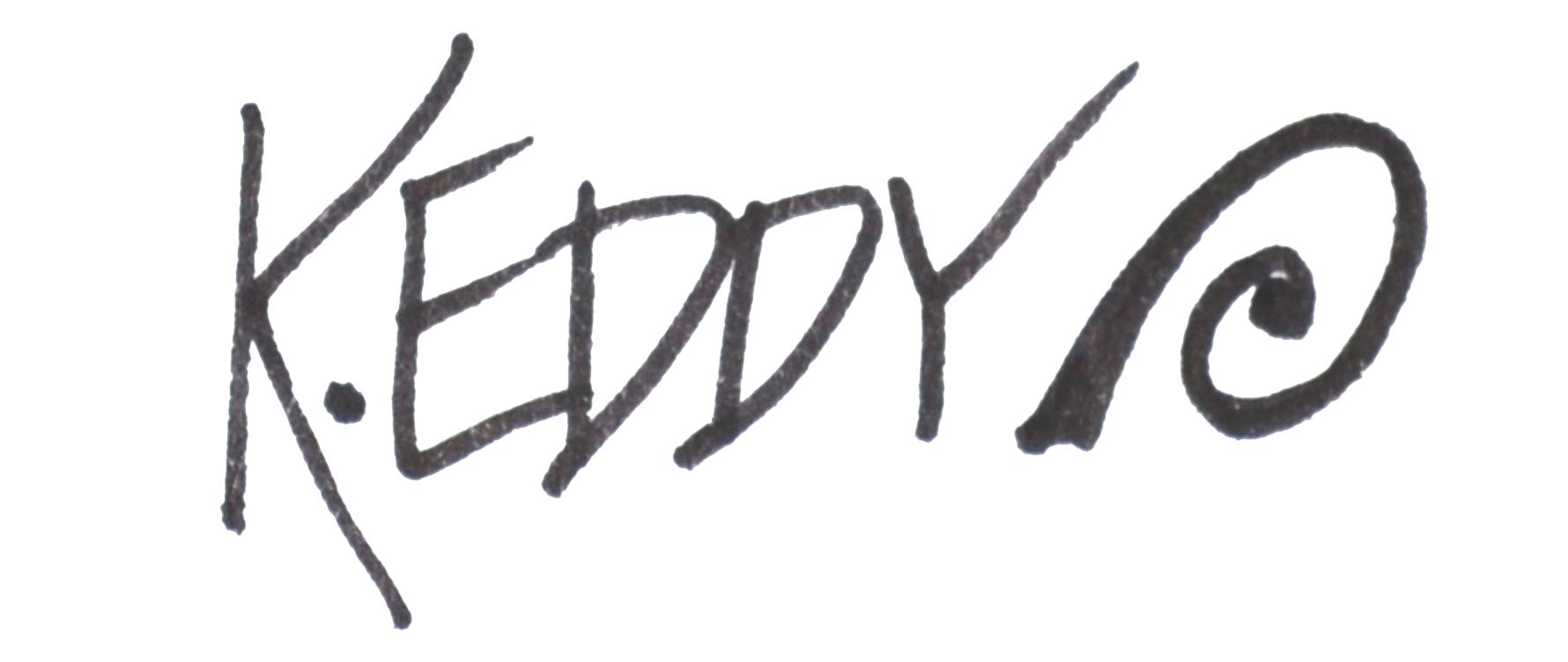 Kimberley Eddy's Signature