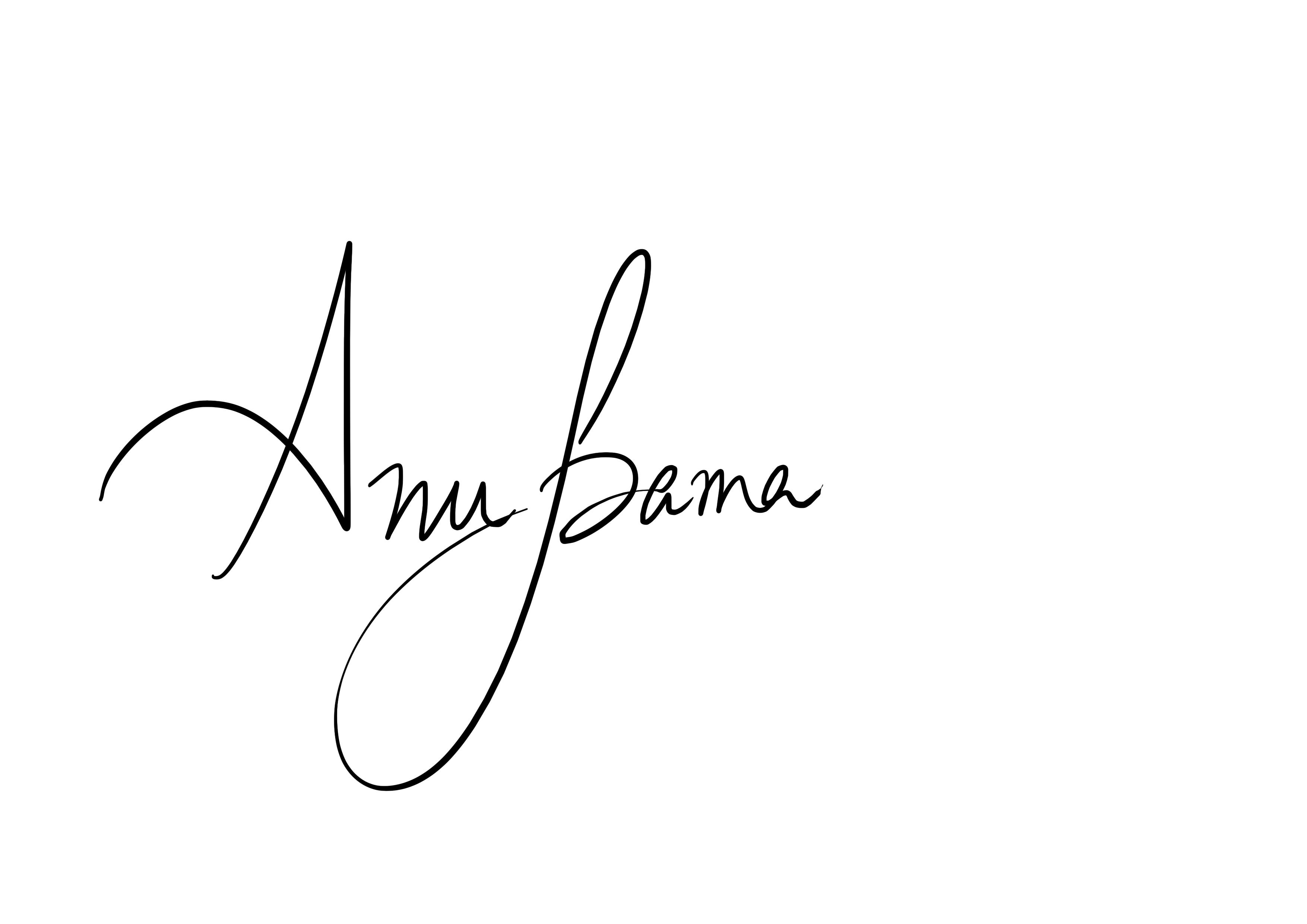 Anupama Hiregoudar's Signature