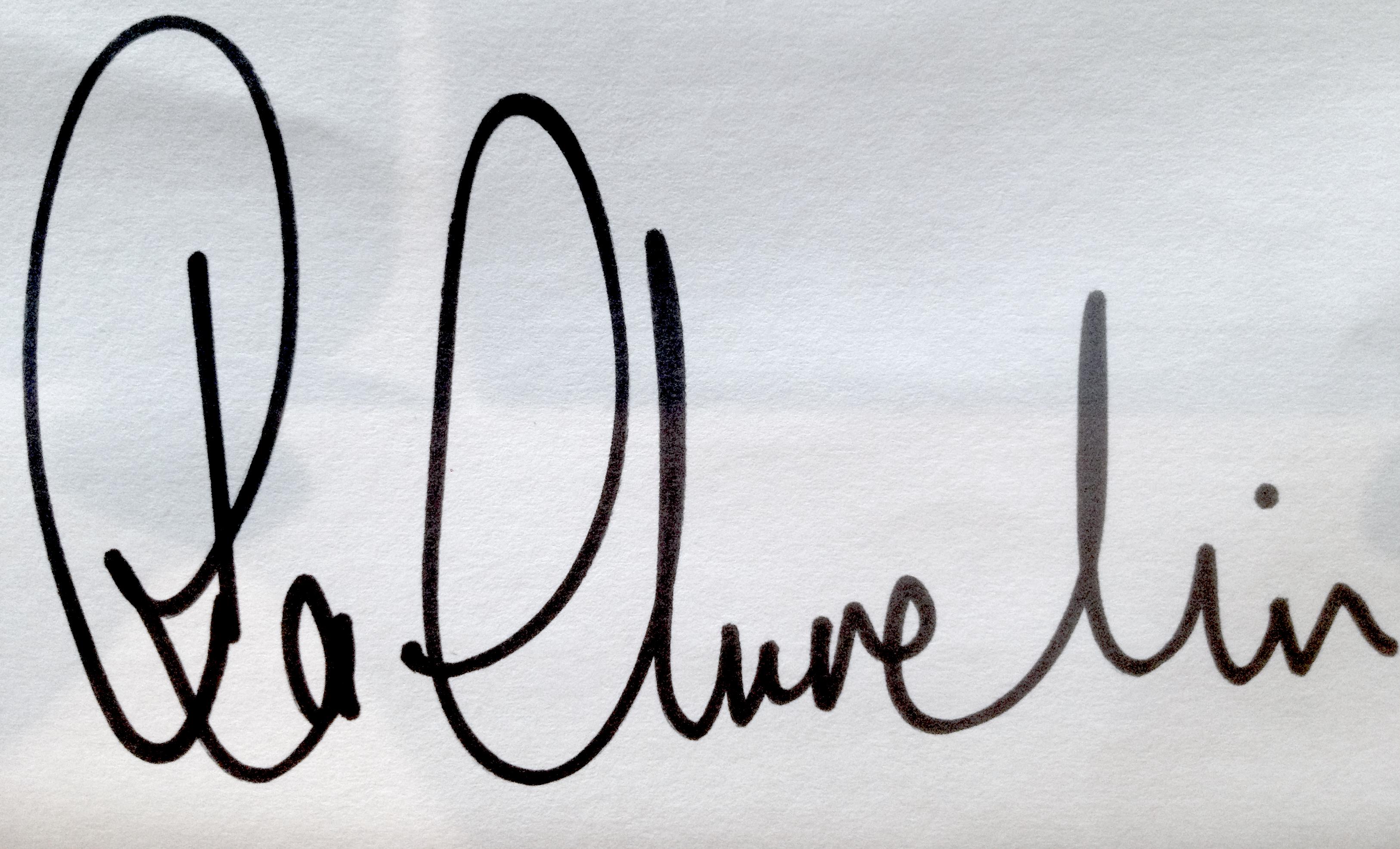 Ra Churchin's Signature