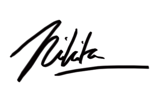 Nikita Mathur's Signature