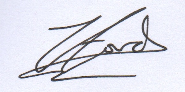 Zoe Ford's Signature