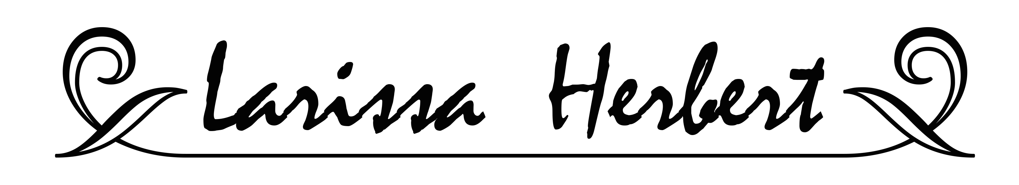 Larissa Herbert's Signature