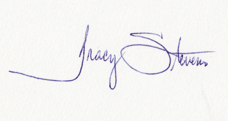 Tracy stevens's Signature
