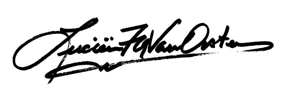 Lucien van Oosten's Signature