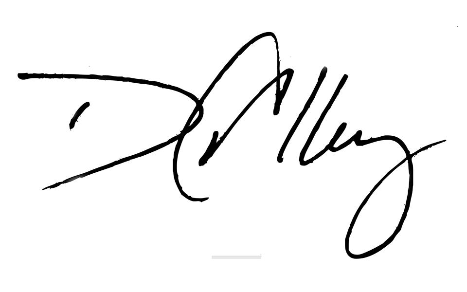 David Alley's Signature