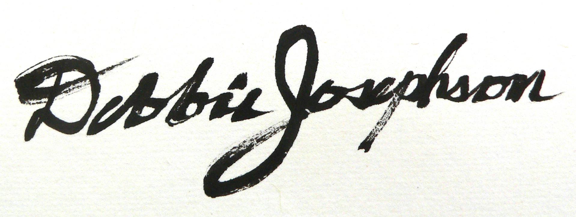 Debbie Josephson's Signature