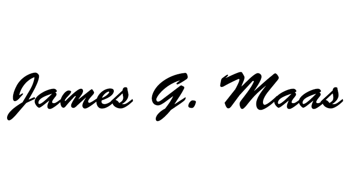 James Maas's Signature