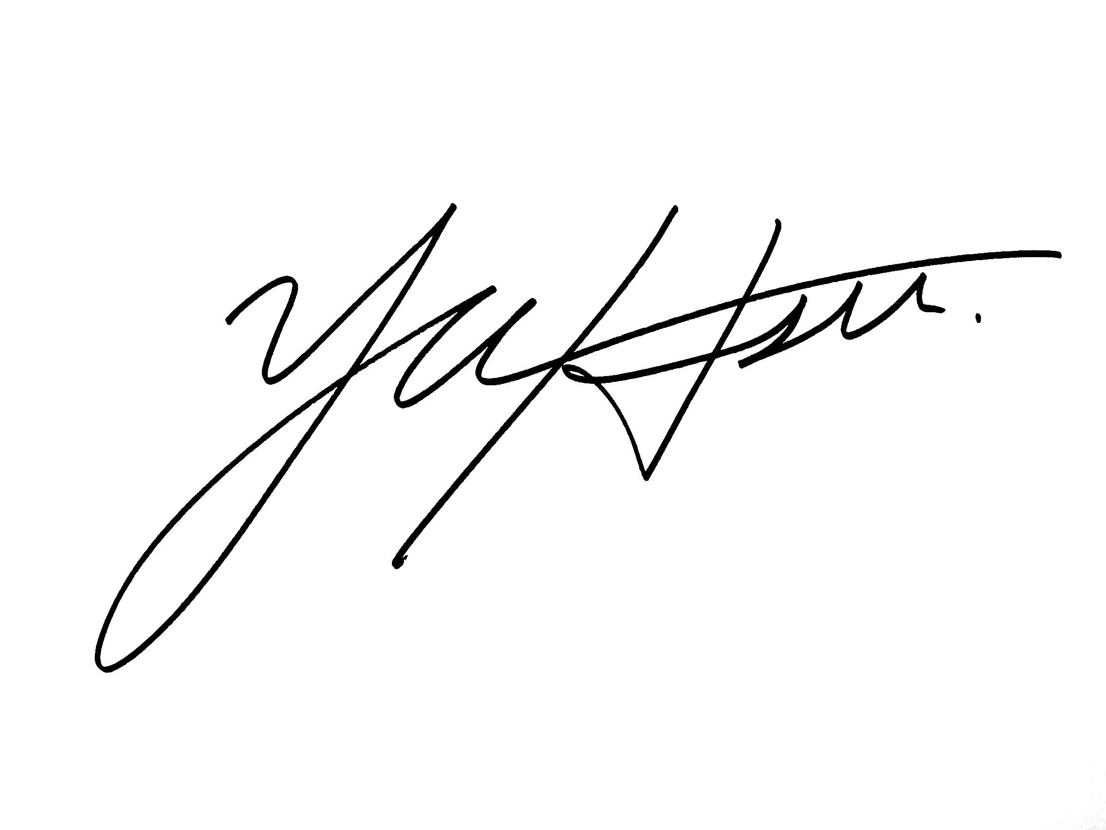 Hyun-su (Anna) Yu's Signature