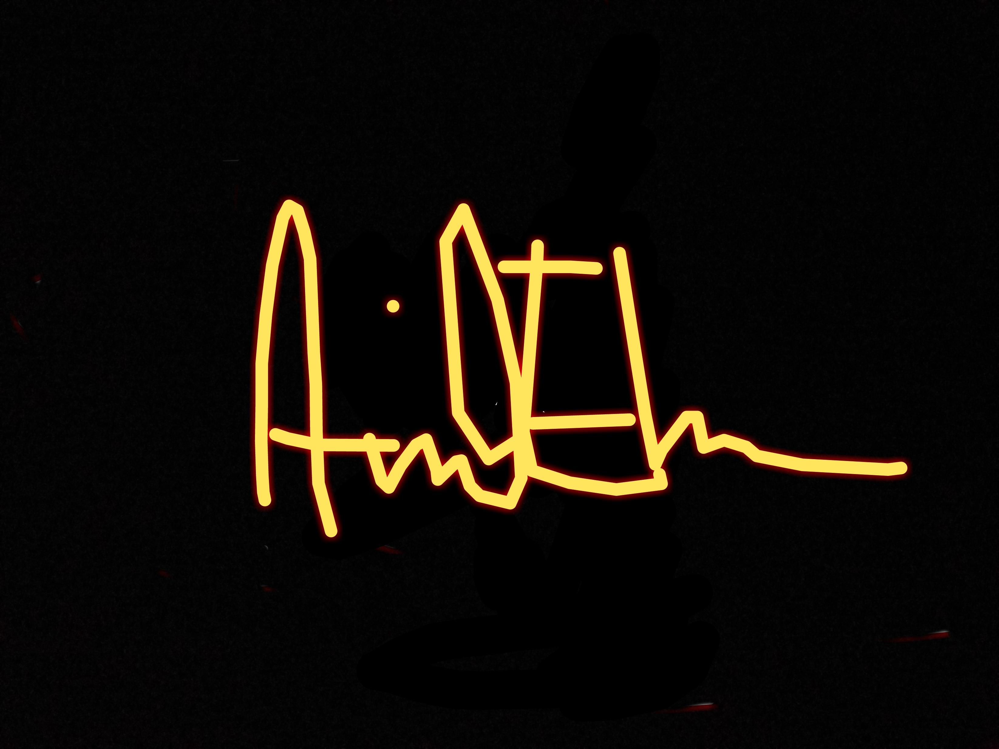 Arvid Ehn's Signature